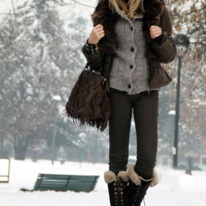 Beautiful winter boots can compliment any outfit.
