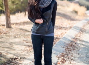 A casual jacket can look great during the winter season